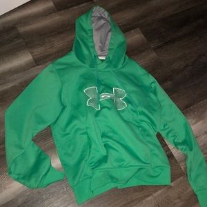 green under armour hoodie